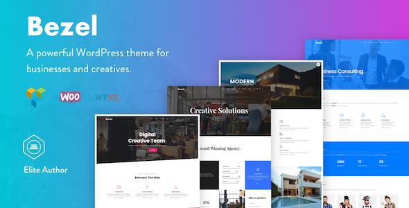 Bezel – Inventive Multi-Goal WordPress Theme (Inventive)
