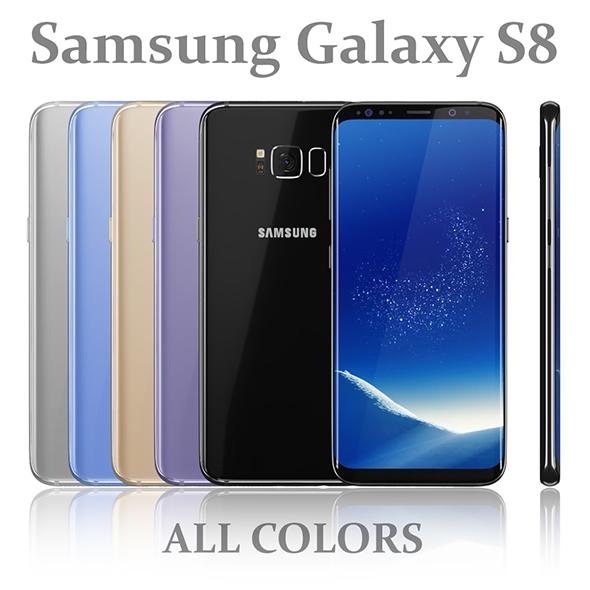 3DOcean Samsung Galaxy S8 All colors 20151854