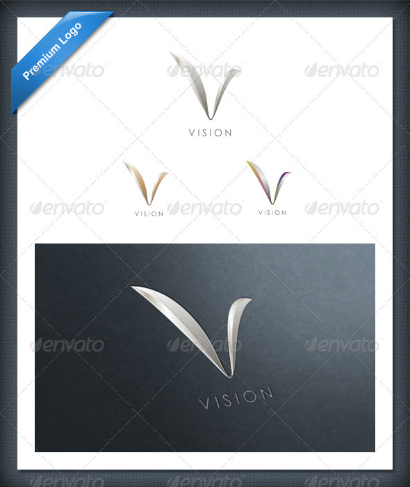 GraphicRiver Vision Logo 542571