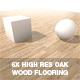 6 x Oak Wood Floor Textures