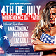 American Day Party Flyer