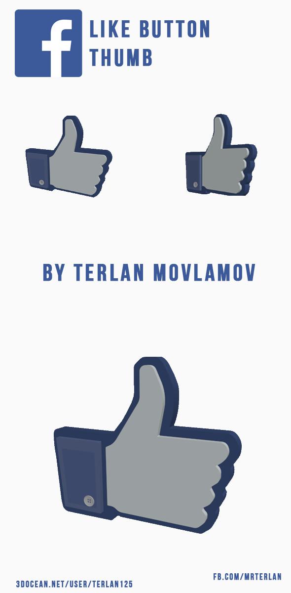 3DOcean Facebook Like Button FB Thumb 20153521