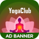 Yoga | Fitness Multipurpose HTML 5 Animated Google Banner