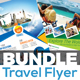 Travel Flyer Template Bundle