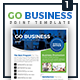 Go Business - Single Sided Flyer