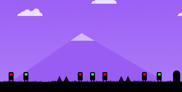 Greens & Reds - Html5 Game (20 Levels)