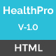 HealthPro - Medical and Health Responsive HTML5 Template