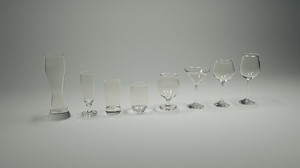3DOcean A set of glasses 20156584
