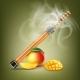 Electronic Hookah with Mango