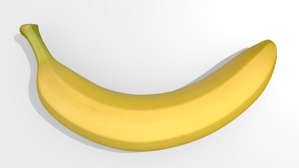 3DOcean 3D model of banana 20159651