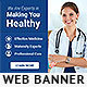 Healthcare PSD Banner Ad