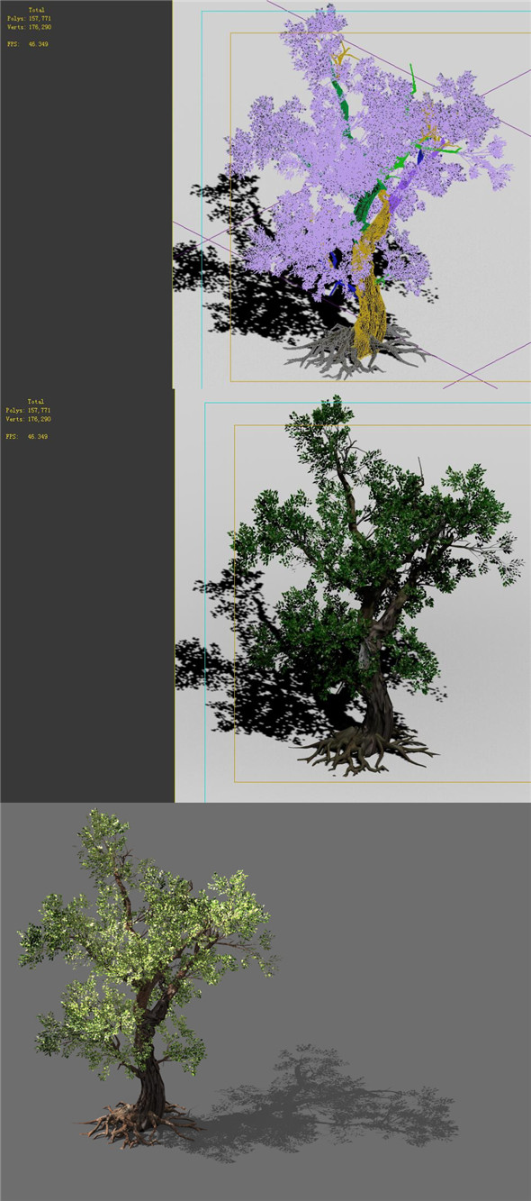 3DOcean Game Models Forest Trees 02 20160234