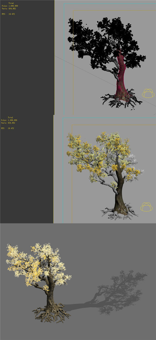 3DOcean Game Models Forest Trees 05 20160346