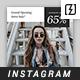 10 Promotional Instagram Templates
