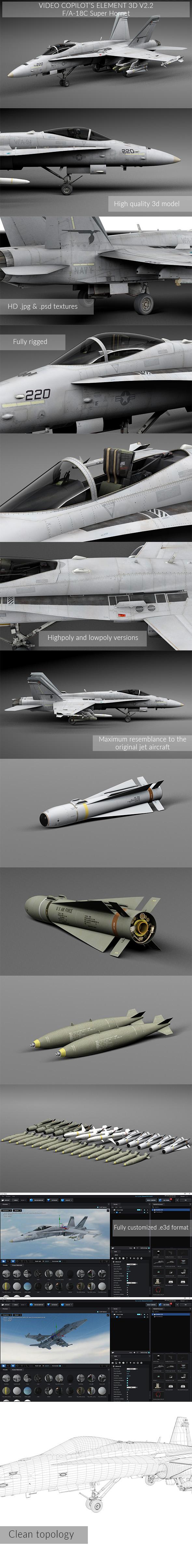 3DOcean FA-18C Super Hornet 20160661