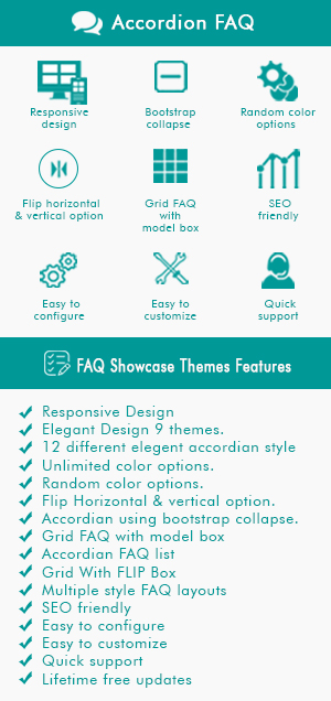 HTML5 Responsive FAQ Showcase - 1