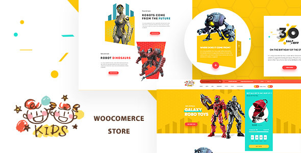Download Kids - Baby Shop & Kids Store WooCommerce Theme
