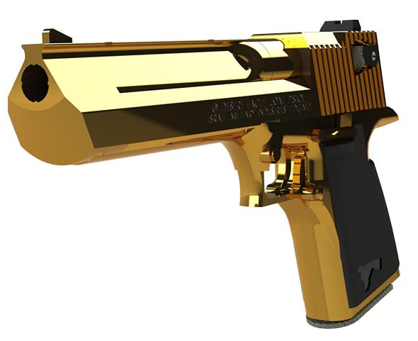 3DOcean Desert Eagle 50 Calbire Handgun 20162016