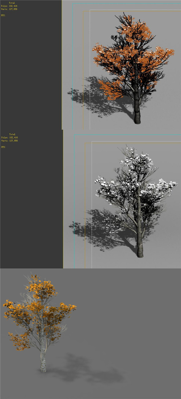 3DOcean Game Models Desert Trees 04 20162100