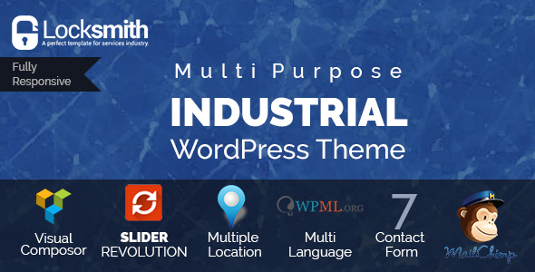 Locksmith – WordPress Theme For Industries (WordPress)