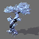 Game Models - Snow - Trees 05