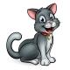 Cartoon Cat Pet
