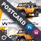 Car Sales Postcard Templates