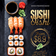 Japanese Sushi Flyer / Poster Template