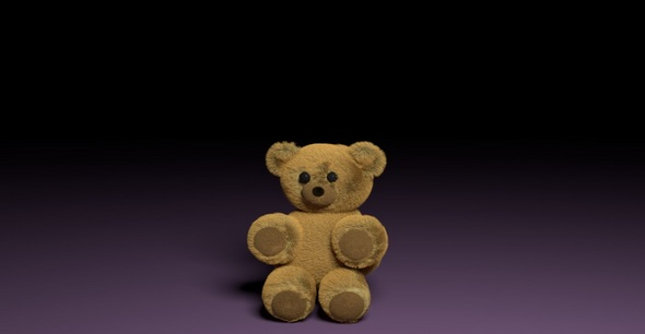 3DOcean Teddy bear 20146358