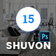 Shuvon App & Software PSD Template