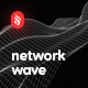 Smooth Network Wave Backgrounds