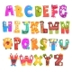 Colorful Cartoon Children English Alphabet