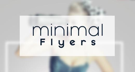 Minimal Flyers