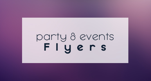 Party & Events Flyers