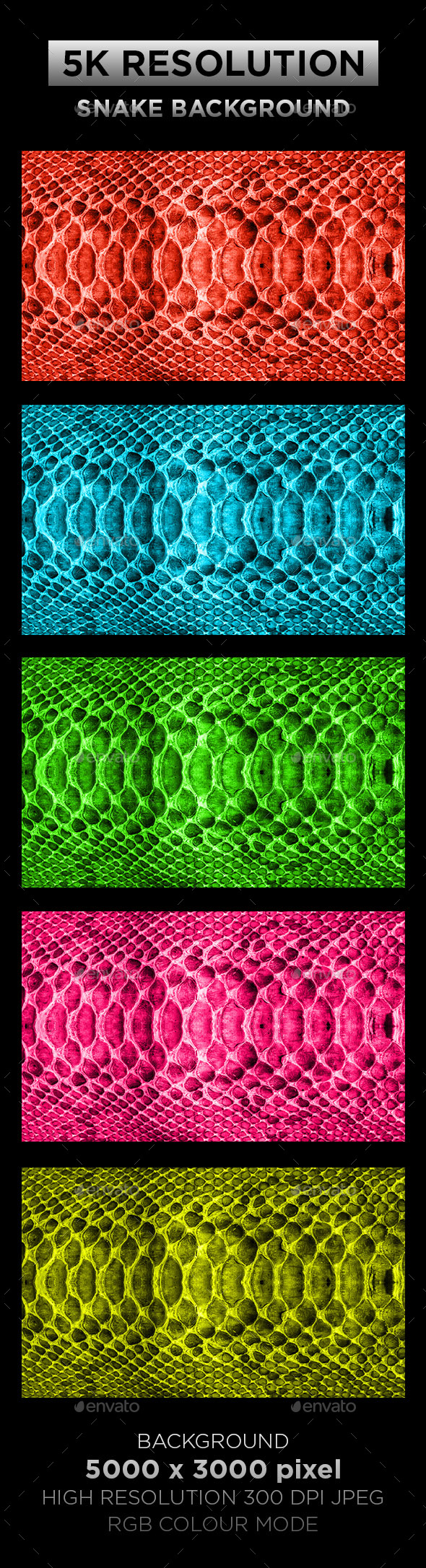 Snake Texture Background 001