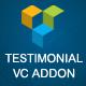 JAG Visual Composer Testimonials Addon