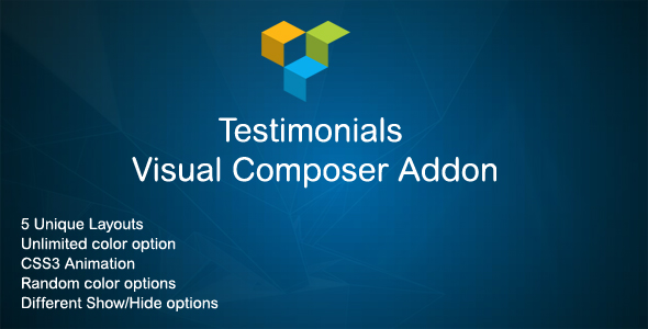 JAG Visual Composer Testimonials Addon (Add-ons) images
