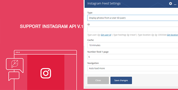 Instagram Feed For Visual Composer (Add-ons) images