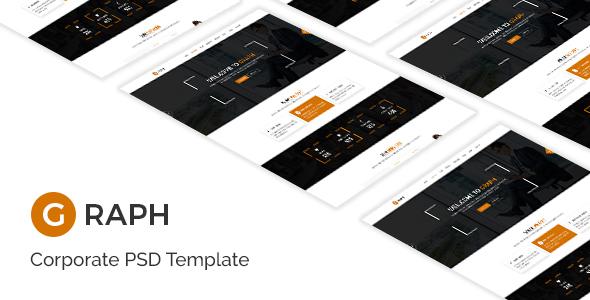 Graph - Creative PSD Template