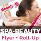Beauty Flyer & Roll-Up Banner Template