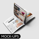 Square Brochure Mockups V.2