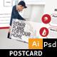 Home Repair Postcard Template