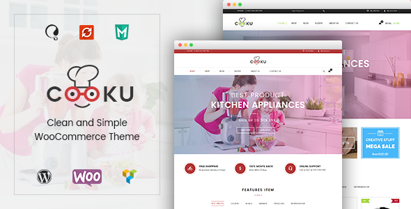 VG Cooku - Clean, Simple WooCommerce WordPress Theme