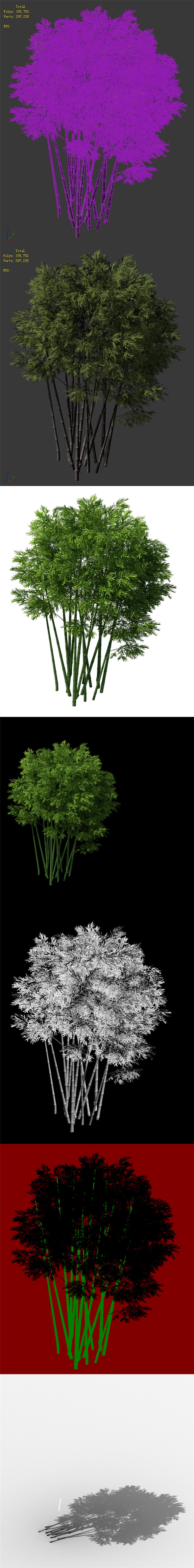 3DOcean Plant Bamboo 032 20169622