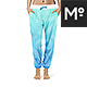 Harem Pants Mock-up