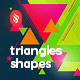 Triangles Shapes Backgrounds