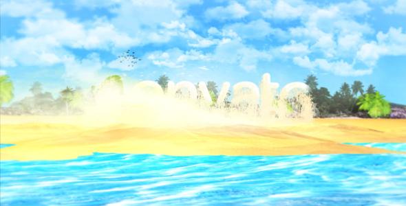 VideoHive Island Beach Summer Logo 20125734
