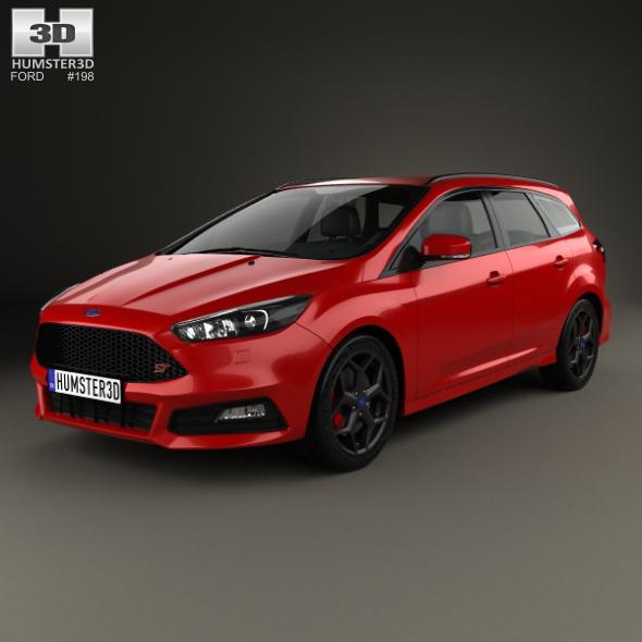 Ford Focus turnier ST 2014