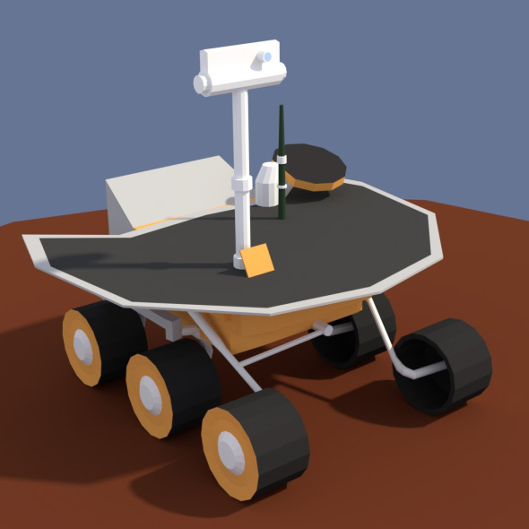 3DOcean Low Poly Cartoony Planet Rover 2 20172765
