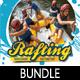 Rafting Flyer Poster Banner Bundle 1